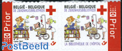 Red Cross booklet pair s-a