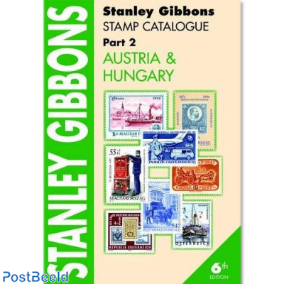 Stanley Gibbons Europa Dee 2: Oostenrijk en Hongarije