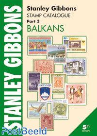 Stanley Gibbons Europa Deel 3: Balkan