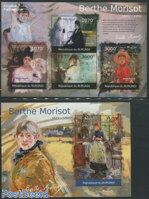 Berthe Morisot paintings 2 s/s