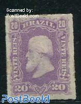 20R violet/lilac, unused hinged