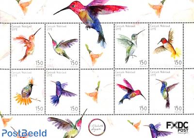 Sint Eustatius, Hummingbirds 8v m/s