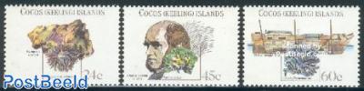 Charles Darwin 3v
