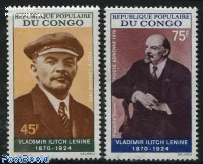 Lenin birth centenary 2v