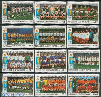 World Cup Football 12v