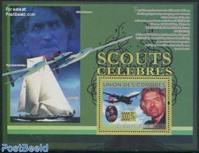 Famous Scouts, Richard Branson s/s