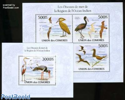 Birds in the Indian Ocean region 2 s/s