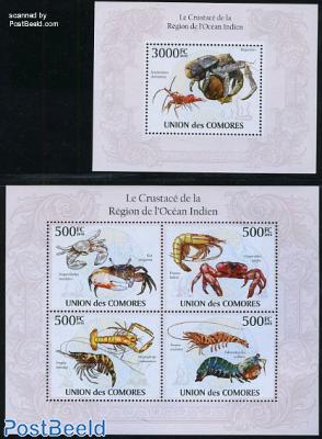 Indian Ocean crabs & lobsters 2 s/s