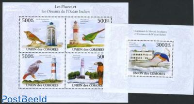 Lighthouses & birds 2 s/s