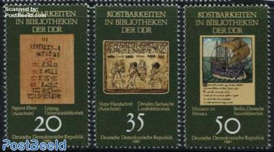 Antique books 3v