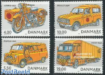 Postal transport 4v