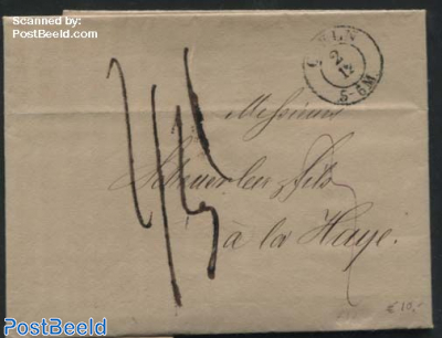 Letter from Coeln (Koeln) to the Hague