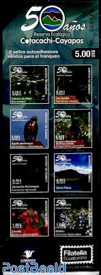 Cotacachi-Cayapas reserve 8v in booklet s-a