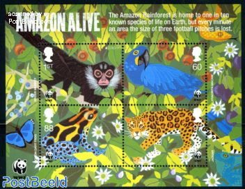 WWF, Amazon alive 4v m/s