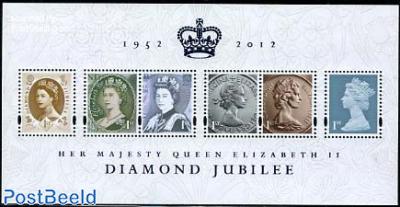 Elizabeth II diamond jubilee s/s