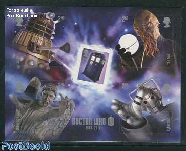 50 Years Doctor Who s/s s-a