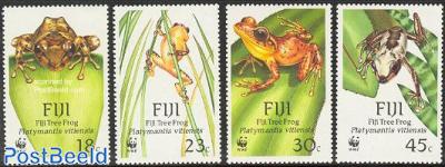 WWF, frogs 4v