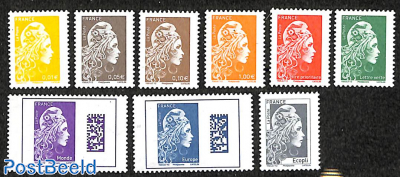 Marianne definitives 9v