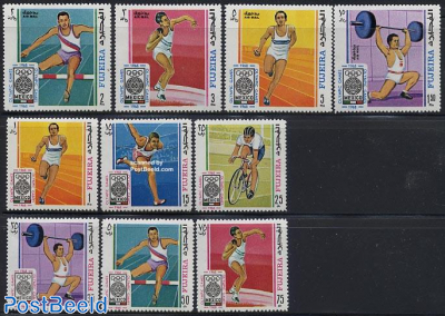 Olympic games Mexico 10v