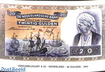 20 Gulden 1941