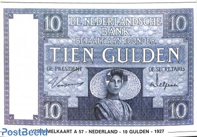 Tien Gulden 1927