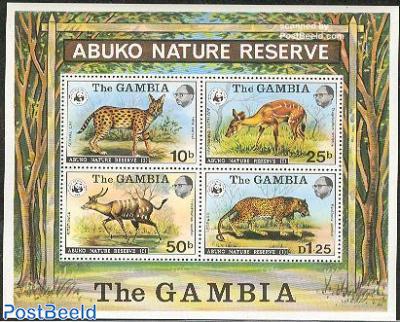 WWF, Abuko park s/s