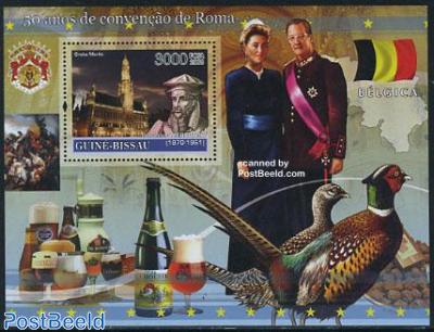 50 Years Treaty of Rome, Belgium s/s