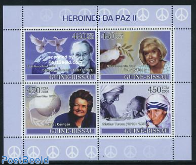 Nobel prize for Peace 4v m/s
