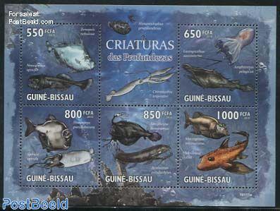 Deepsea creatures 5v m/s