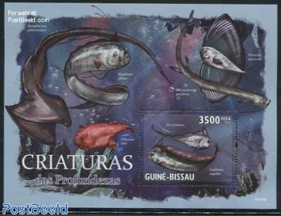 Deepsea creatures s/s
