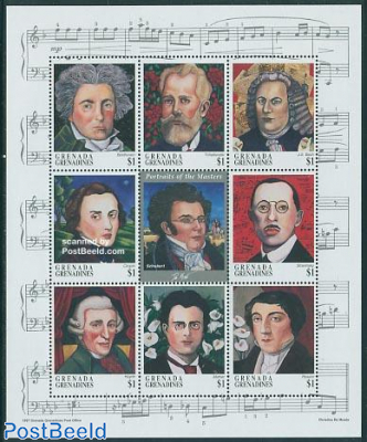 Composers 9v m/s