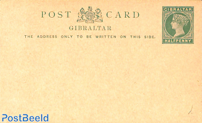 Postcard halfpenny