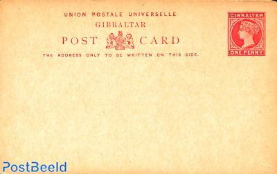 Postcard one penny