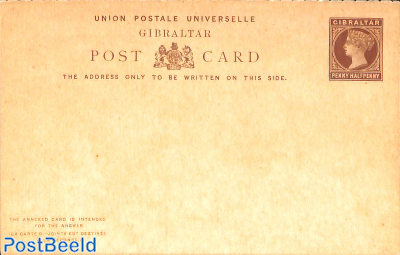 Reply Paid Postcard 1.5/1.5d