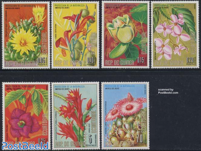 North American flowers 7v