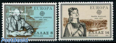 Europa, famous persons 2v