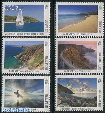 Visit Guernsey 6v