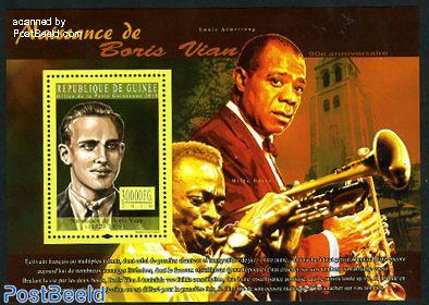 Jazz music, Boris Vian s/s