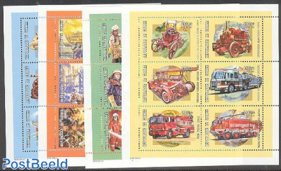 Fire fighters history 24v (4 m/s)