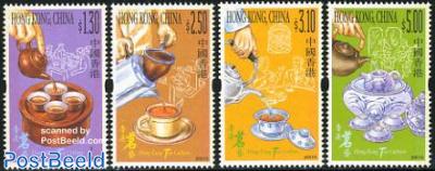 Tea culture 4v