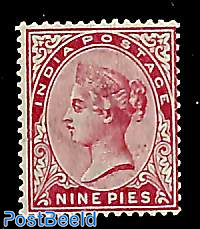 9p, Stamp out of set