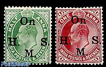 King Edward VII, On H.S.M. 2v