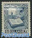 1.75Kr. blue, stamp out of set