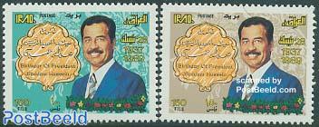Saddam Husein 52nd birthday 2v