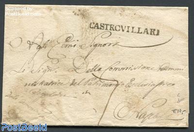 Folding cover from Castrivillari to Napoli