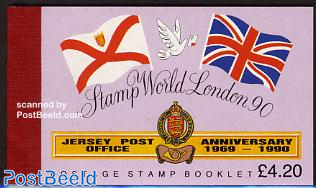 Stamp world London booklet