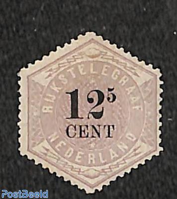 Telegram 12.5c, Stamp out of set