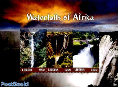 Waterfalls of Africa 3v m/s