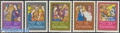 Caritas, miniatures 5v