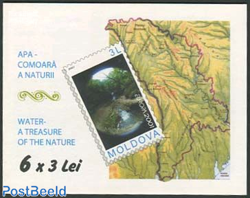 Europa, Water booklet